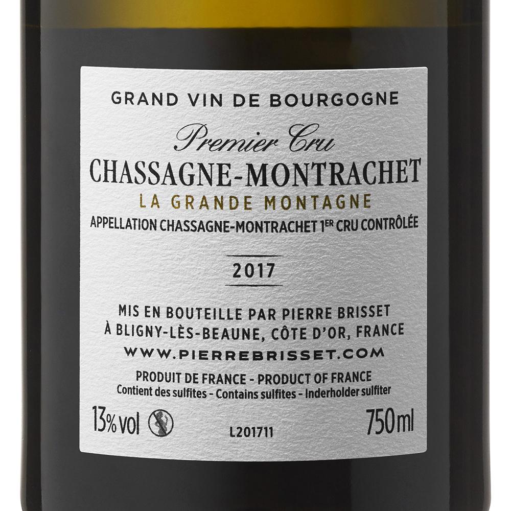 Chassagne Montrachet La Grande Montagne 2017