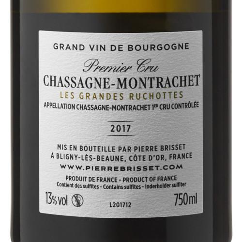 Chassagne Montrachet Les Grandes Ruchottes 2017
