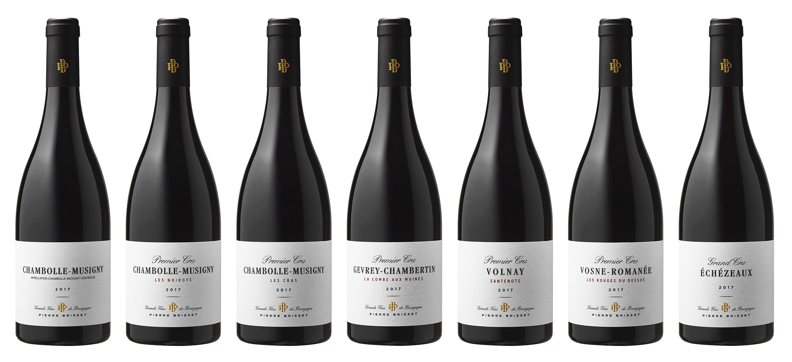 Pierre Brisset : vins rouges millésime 2017