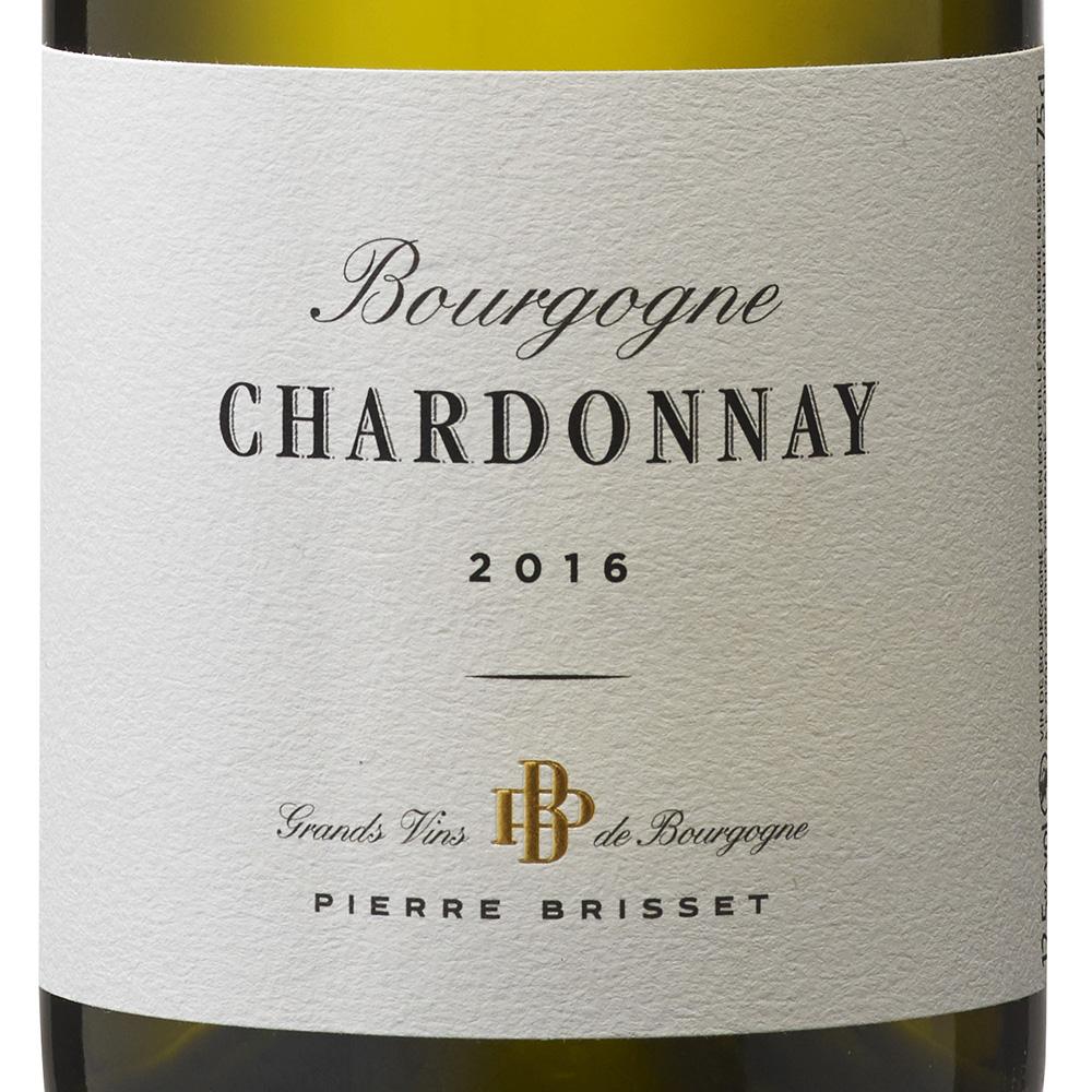 Bourgogne chardonnay 2016 - Pierre Brisset - etiquette