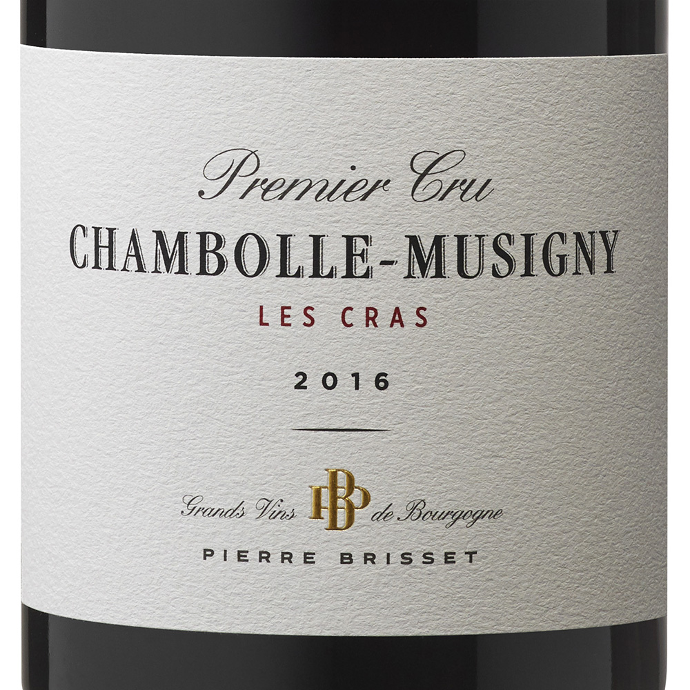 Chambolle Musigny Premier Cru Les Cras 2016
