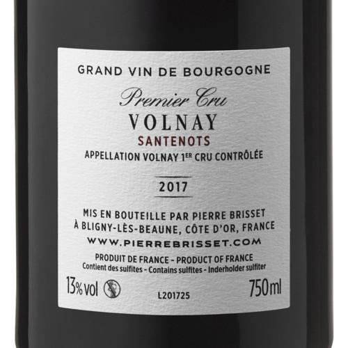 Volnay Premier Cru Santenots 2017