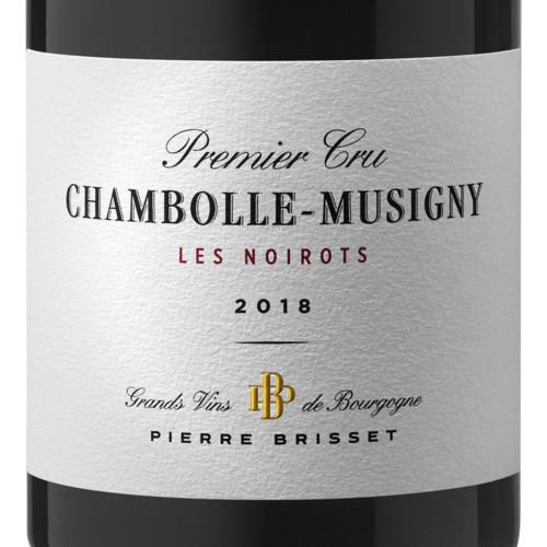 Chambolle Musigny Premier Cru Les Noirots 2018 Pierre Brisset