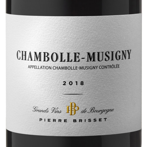Chambolle Musigny 2018 Pierre Brisset