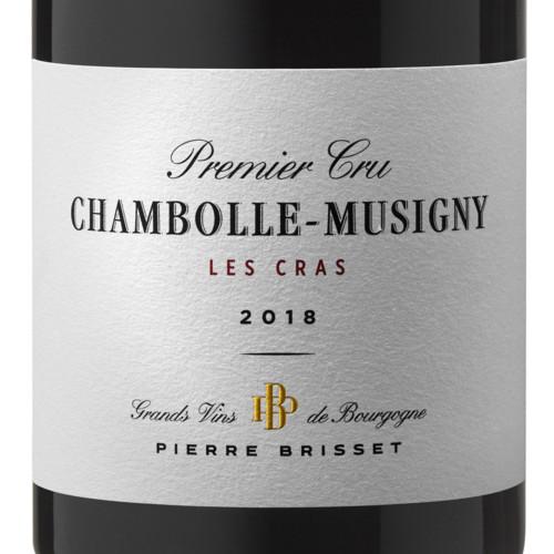 Chambolle Musigny premier cru Les Cras 2018 Pierre Brisset