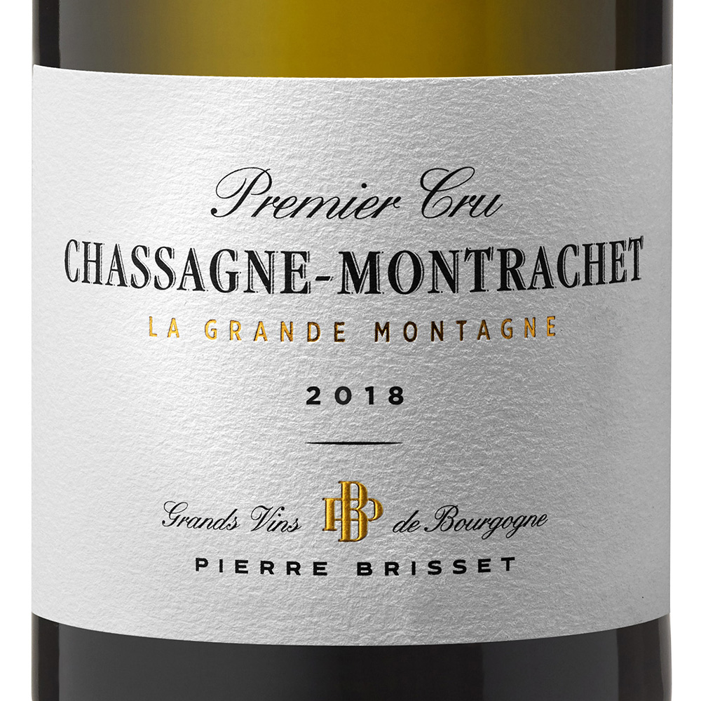 Chassagne Montrachet Premier cru - La Grande Montagne 2018 Pierre Brisset