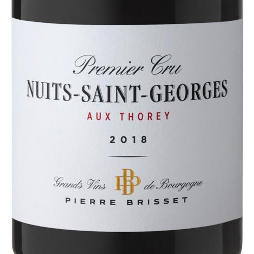 Nuits Saint Georges Premier Cru Aux Thorey 2018 Pierre Brisset
